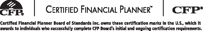 9 SECTION 4 USING THE CFP BOARD S TAGLINE 4.1 CFP certificants are required to use the following tagline when featuring the CFP marks on Web sites, in advertisements and on promotional materials.