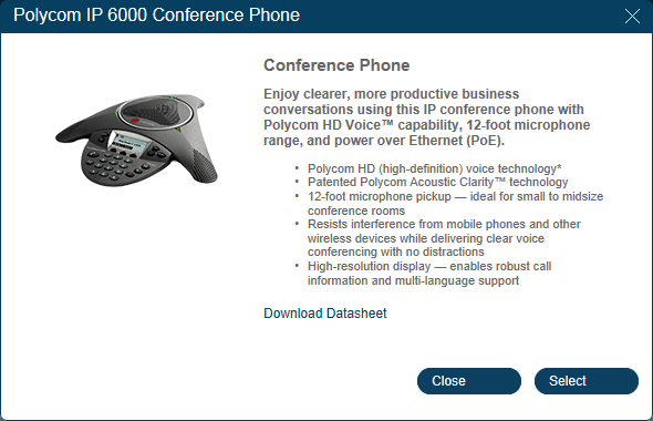 RingCentral Office Reference Guide Phones and Apps Conference Phones and Paging Devices RingCentral supports two models of conference phones and two paging devices.