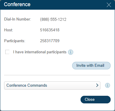 RingCentral Office Reference Guide Getting Started Conferencing 1 1 RingCentral Office customers can setup, host, and join conference calls anytime, anywhere.