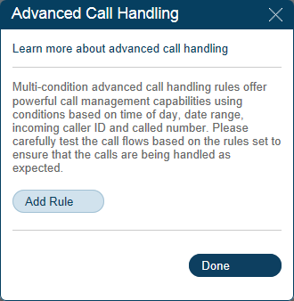 RingCentral Office Reference Guide Auto-Receptionist Settings Company Call Handling 1 The Auto-Receptionist greets callers with a recorded message when they call your company.