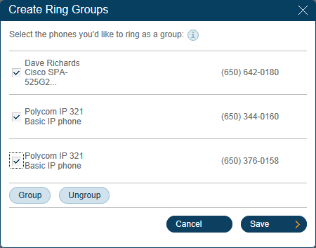 RingCentral Office Reference Guide Settings for Admins and Users Call Forwarding Admins 1 Set up different call forwarding rules for each user/ extension.