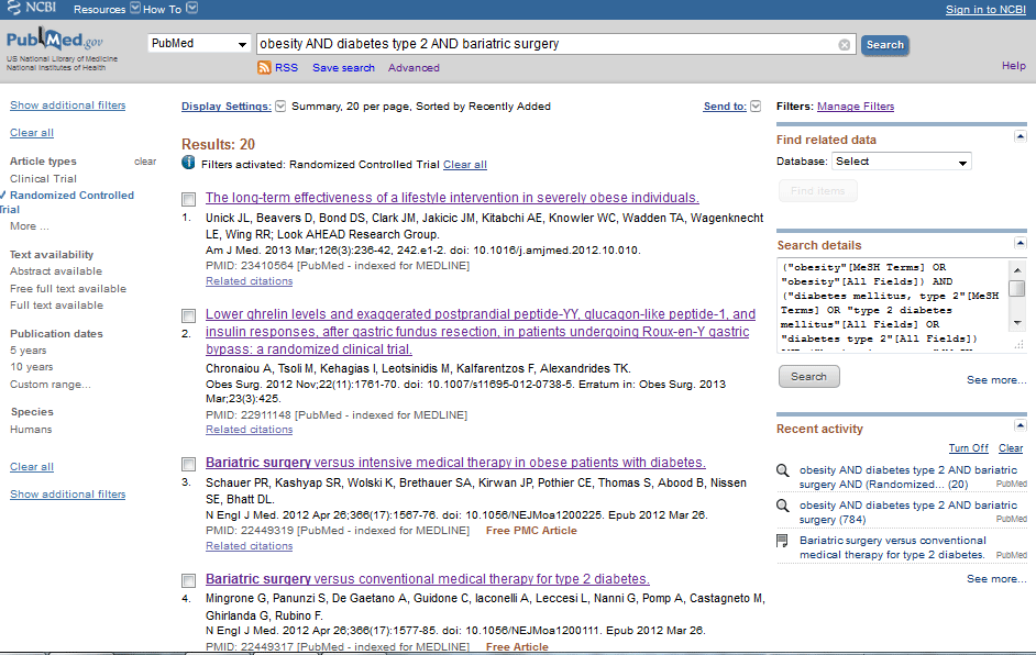 PubMed Step 4.