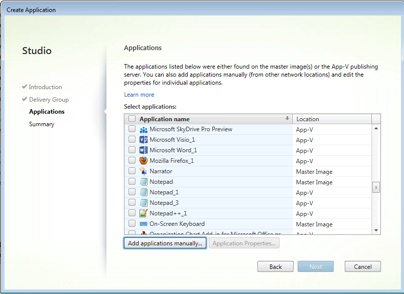 Configuring App-V 5 Components in Studio Don t forget to Enable-PSRemoting Publish Apps