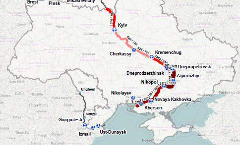 IN-LAND WATERWAYS IN UKRAINE SECTOR INFORMATION Ukraine has a great untapped potential in transporting of grain by river.