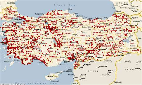 Retail Only Company with Nationwide Coverage Turkey s largest nationwide network 2,972 stations as of March 2010 Number of Stations* March 2010 2,782 190 1,393 v 1,208 Network