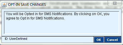 After you click Submit, the following message will appear. Click OK to confirm.