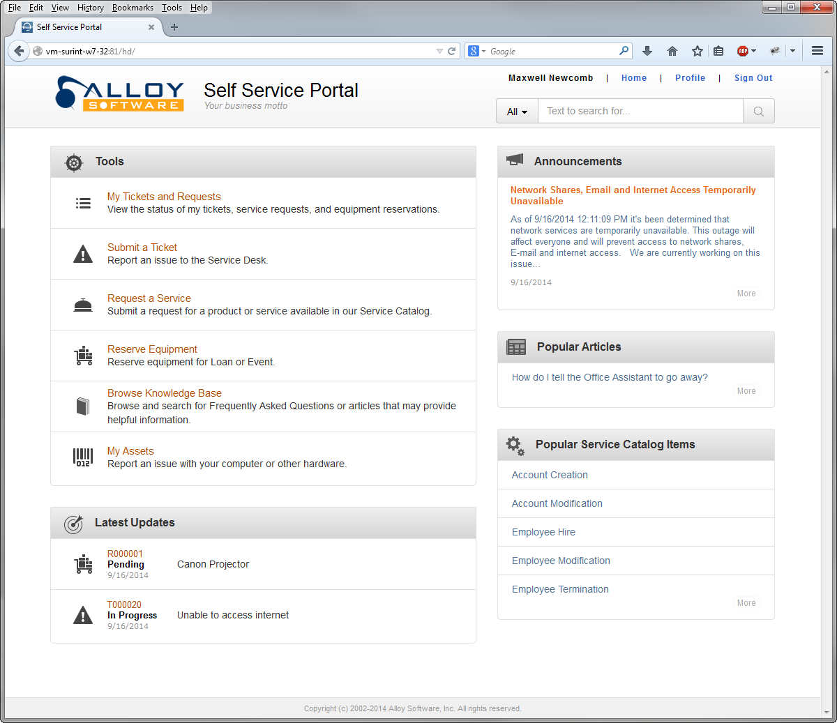 New in version 7 Alloy Navigator 7 Enterprise delivers practical solutions to the challenges IT departments face everywhere.