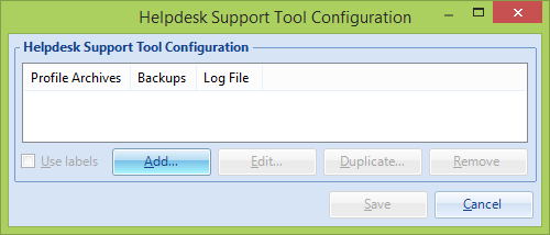 4 Configuring Helpdesk Support Tool VMware User Environment Manager Helpdesk Support Tool does not work without its corresponding configuration.