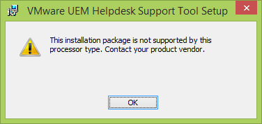 3 Installing Helpdesk Support Tool Installation of VMware User Environment Manager Helpdesk Tool is very straightforward.