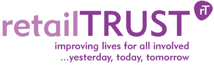 retailtrust The leading charity in the retail and support services sector supports all of the 4.5 million people involved, their dependants and retirees from the industry.