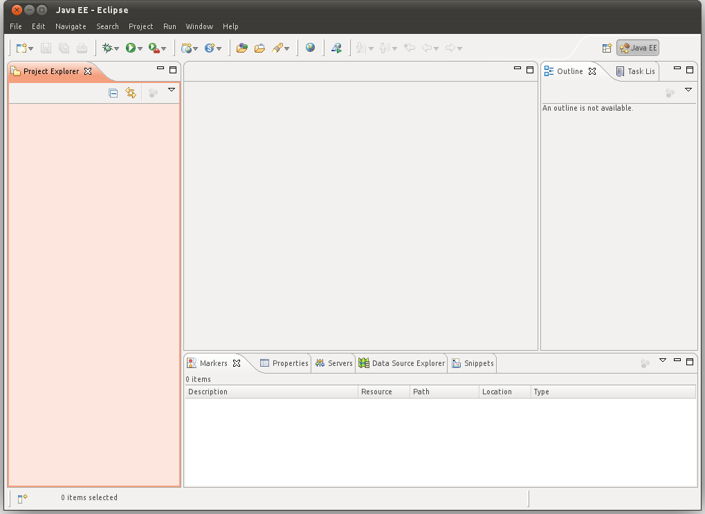 Eclipse IDE The parts in which the window is divided are called views You can