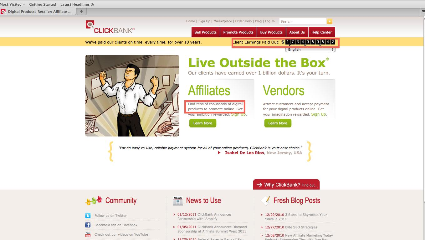 Finding A Product On Clickbank Finding A Product On Clickbank Every Person