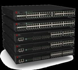Fiyat / Performans Kampüs Erişim Brocade ICX 6610 High-Performance Brocade FCX-S Mission-Critical Brocade ICX 6430 Entry-level 4x 1 GbE uplinks 4G stacking PoE+ Energy Efficient Ethernet (EEE) ready