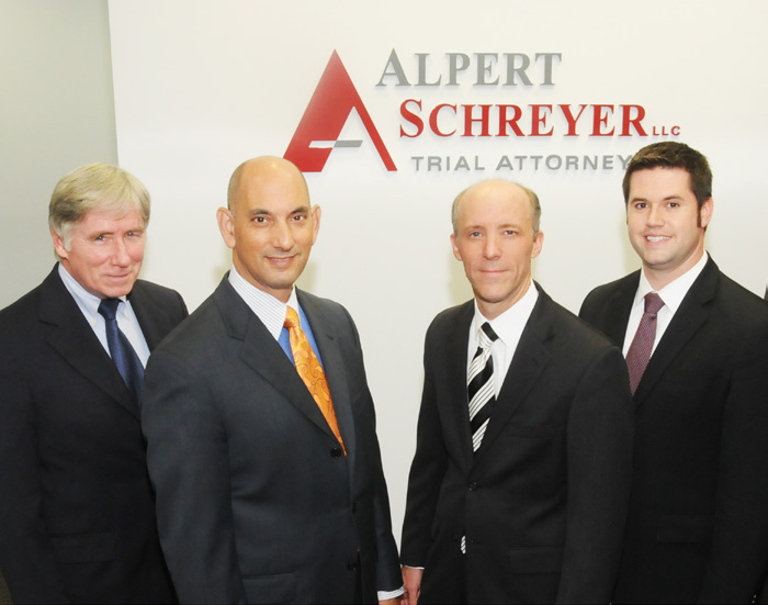 Contact the professionals at Alpert Schreyer to fight for your legal rights today. GET THE LEGAL HELP YOU NEED Call 866.952.