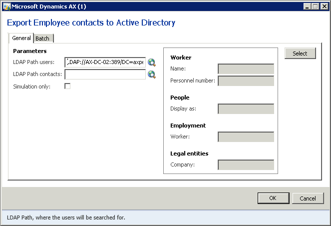 4 Active Directory Integration in AX 2012 4.