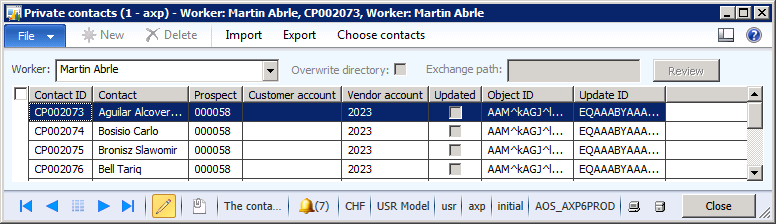 3 Using Exchange Synchronization in AX 2012 3.