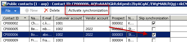 3.1.5 Photos Photos can be assigned (in Microsoft Dynamics AX standard) to employees; «AXP-Exchange Sync» extends this functionality to AX contacts as well.