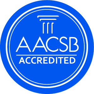The College of Business and Economics: AACSB Accredited AACSB (The Association to Advance Collegiate Schools of Business) seeks to promote quality education and we