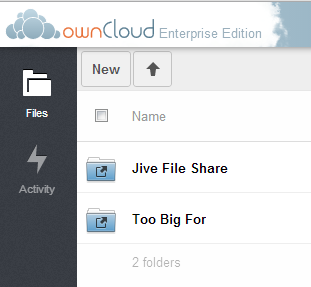 Web Client Use Cases Create a folder in the Jive File Share Web Client folder to create a new Jive Group. Verify the Group is created in Jive.