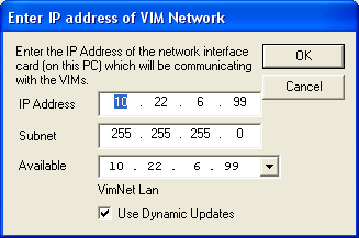 The following main VIMNet Explorer screen will be displayed: Step 2 - Right click on Physical Network go to Properties.