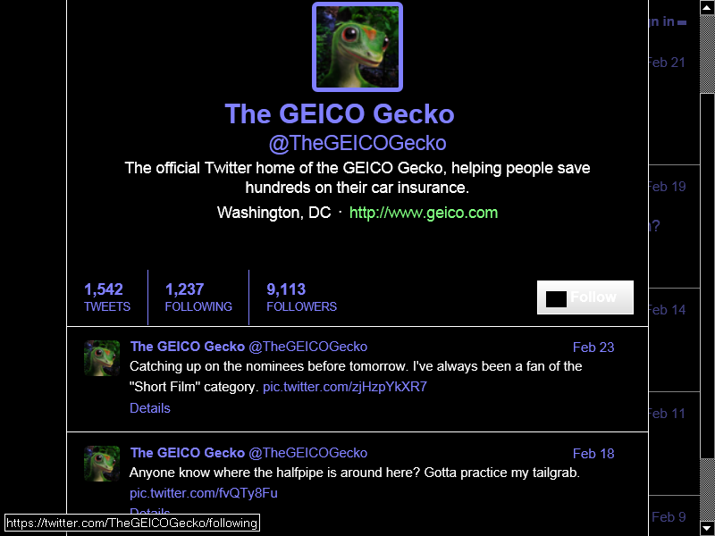 Ranking & Relevance Meta Stream geico auto insurance geico car insurance geico insurance www geico com care geicos