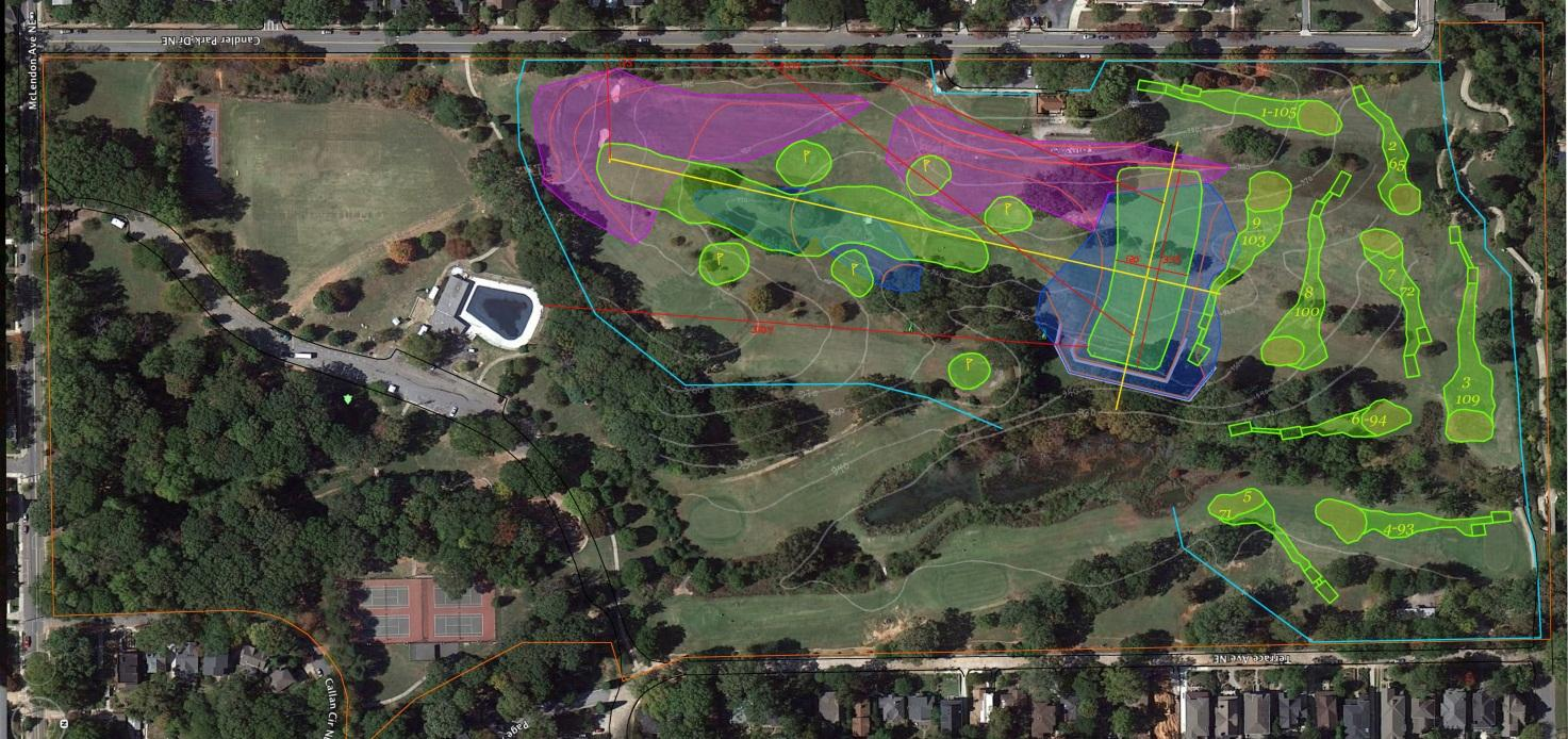 Currently, Candler Park is losing $70,000 per annum, is in poor condition, and lacks the requisite equipment to maintain the golf course properly.