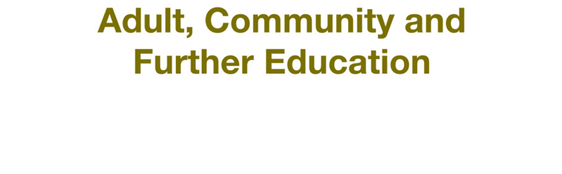 Authorised by the Adult, Community and Further Education Board ISBN: 978-0-7594-0697-1 For information relating to Learn Local adult community education organisations please contact the ACFE Board.