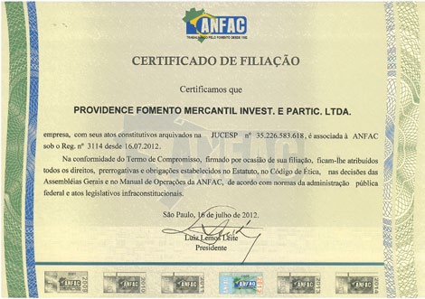 Receivable Financing in Brazil Receivable Financing in Brazil Key Points Receivable financing is an important alternative to the banking sector for the financing of small and medium enterprises.