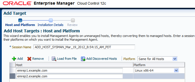 For further details regarding configuration of Cloud Control with F5 Load Balancers, refer to the Oracle/F5 white paper Configuring OMS High Availability with F5 Big-IP Local Traffic Manager.