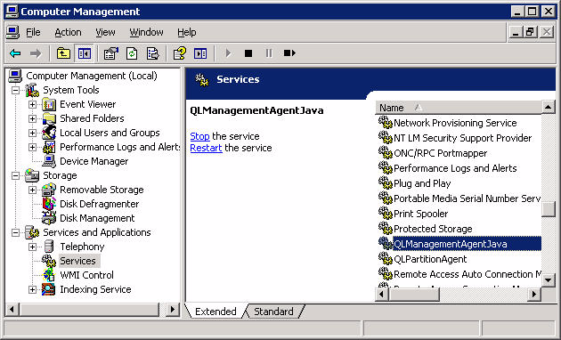 9 Troubleshooting Verifying that qlremote is Installed and Running Verifying that qlremote is Installed and Running everal problems in ANsurfer FC HBA Manager can be a result of the qlremote agent