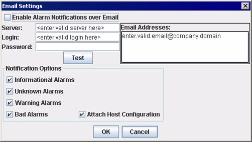 A 6 Getting tarted etting Up Automatic Notification by E-mail etting Up Automatic Notification by E-mail You can automatically send event notifications along with a copy of the current host