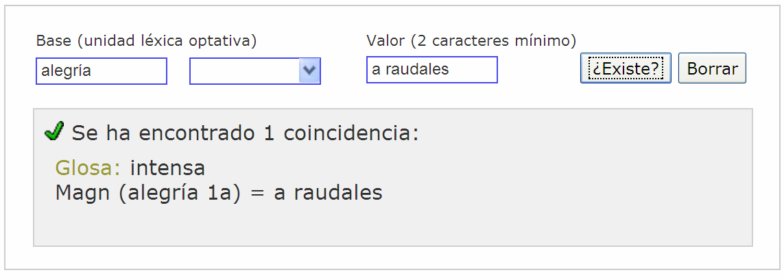 DICE IN THE WEB: AN ONLINE SPANISH COLLOCATION DICTIONARY 373 Figure 3.