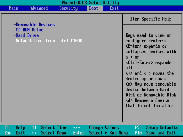 "Confirm the Network Interface Card of client machine supports PXE boot, then you can choose ""Network boot"" in BIOS or"