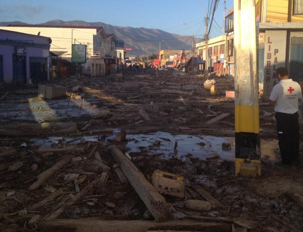 DREF Emergency Plan of Action (EPoA) Chile: Flash Floods DREF Operation MDRCL011 Glide no.