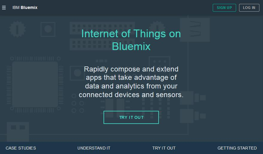 Empfehlung Ib IBM Internet of Things Zone auf Bluemix IBM Internet of Things