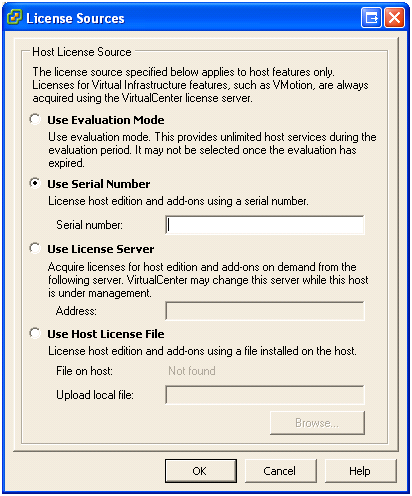 Installing Software 4. To the right of the License Source label, click the edit link. 5. Select Use Serial Number, and enter your license number in the field provided. Then click OK. 6.