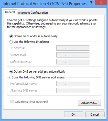 6. Click OK (shown above) to confirm the setting. Your PC will now obtain an IP address automatically from your router s DHCP server.