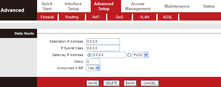5.5.1. Firewall Choose Advanced Setup > Firewall. The page shown in the following figure appears.