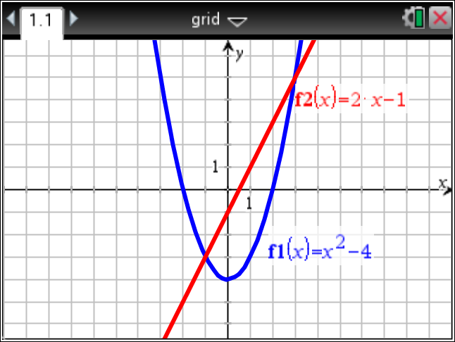 1.5 Lined Grid There is a new option on how to display the Graphing Grid.