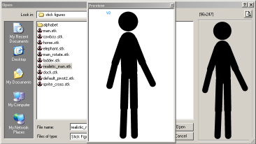 22 STK Files STK (Stick figure) files are the native Pivot file format for figure types. They can be stored on your computer to be used in animations or shared with others over the internet.