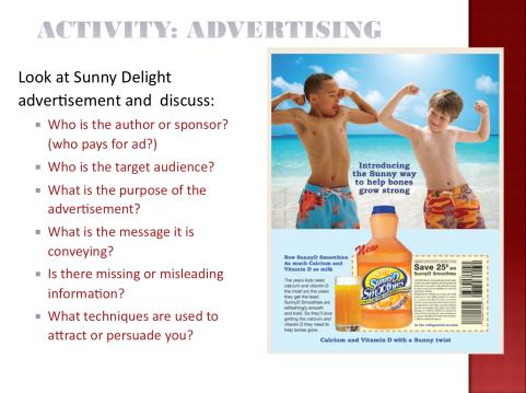 PowerPoint Notes MARKETING FACTS Slides 4 & 5 There is an abundance of facts about how much money is spend advertising to children and the impact it has on their purchasing habits and behaviors.