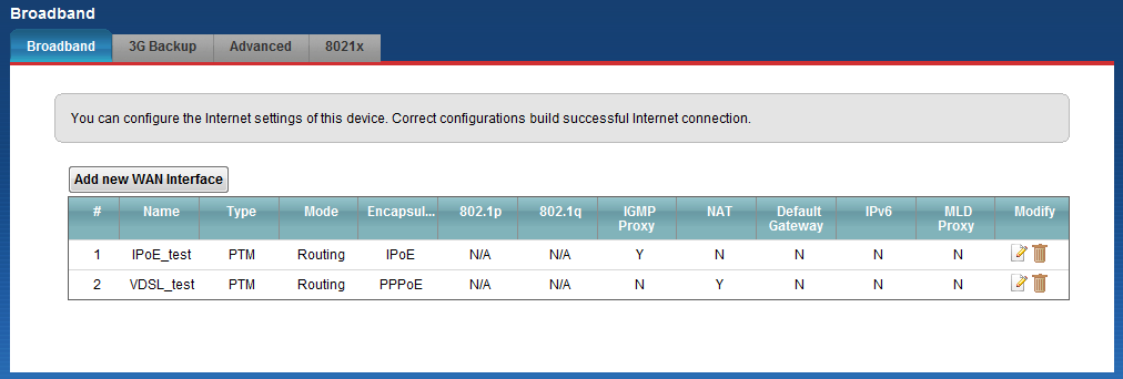 5. We don t enable the NAT at this IPTV WAN service; but we need to check the checkbox for IGMP Proxy Enable. 6.