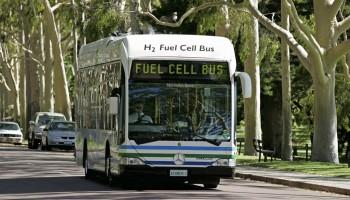 STUDENT ACTIVITY ARE ECOBUSES WORTH THE COST? Between 2004 and 2007, Transperth trialled three EcoBuses in Perth which ran on hydrogen fuel cells as their fuel source.