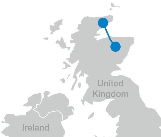 Well positioned in attractive markets Breaking News $800 million Scottish HVDC Light order Caithness-Moray subsea power link, Scotland Largest investment in North Scotland s electricity network since