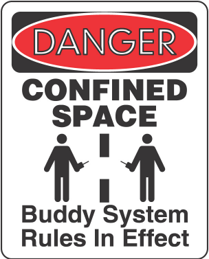 3. Not designed for continuous worker occupancy: Most confined spaces are not designed for workers to enter and work in on a routine basis.