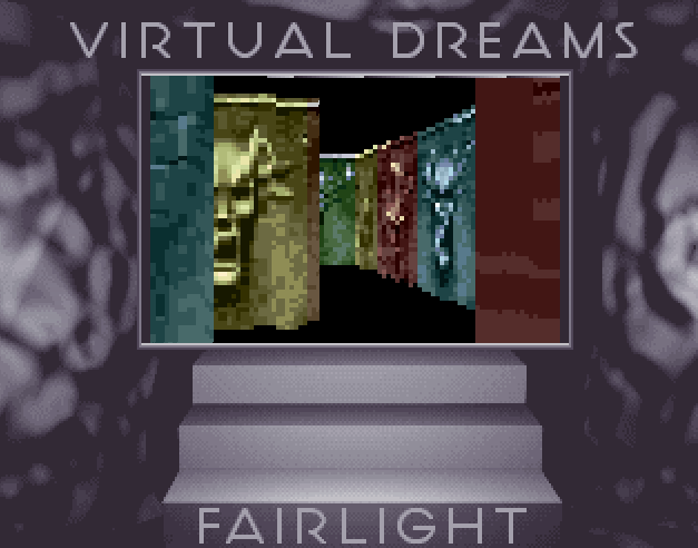 Figure 4.11: Full Moon by Virtual Dreams from 1993, displaying an effect resembling Wolfenstein 3D Games, as discussed in Section 4.3.1, were among the first frames of reference in demo aesthetics.