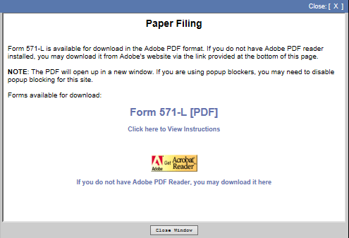 3. Click on the File by Mail (Download, Print, Complete, Sign and Mail) button. 4.
