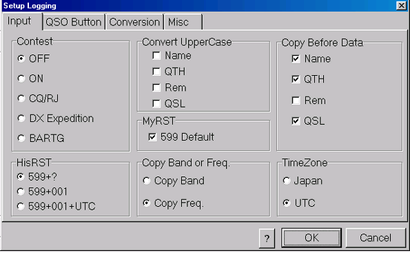 QSO Button Tab Programming the QSO Button Specify How the QSO Button Works in Running Mode Specify How the QSO Button Works in S&P Mode Step 3: Programming the QSO Button (QSO Button Tab) To program