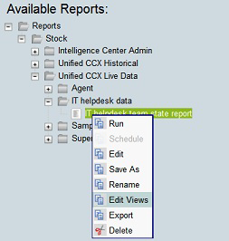Step 10: Create other report definitions by repeating Step 1 through Step 9.