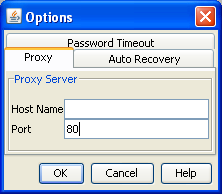 Chapter 2 D2A installation and setup Defining a proxy server If your network uses a proxy server to access the internet, you need to set proxy server options within D2A.
